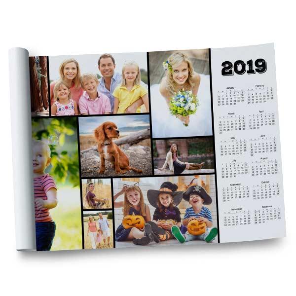 12x18 Poster Calendar 2019 Photo Calendar Winkflash