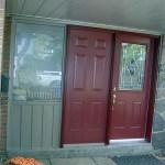 Single door with dummy panel