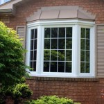 White Bay Windows with Grills in Brampton