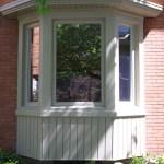 Century home bay window in Brampton