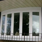 White vinyl bow windows in Brampton