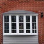 White bow windows in Brampton