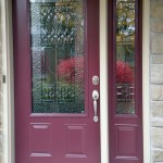 Classic matching door and sidelight