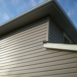 After: New vinyl siding