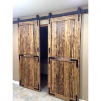 WinSoon 4-18FT Sliding Barn Door Hardware Double/Single ...