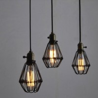 WinSoon Metal Pendant Light Shade Vintage Industrial ...