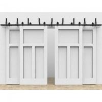Bypass Doors Track & Nobby Design Bi Pass Closet Doors ...