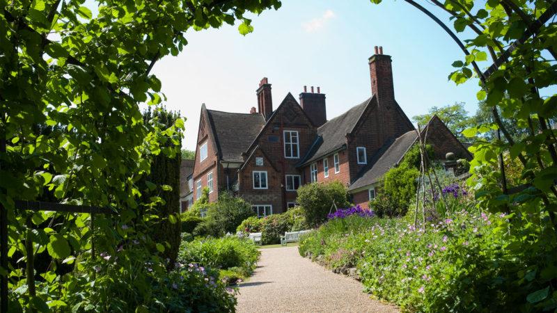 Botanical Garden And Edwardian Era Arts & Crafts House