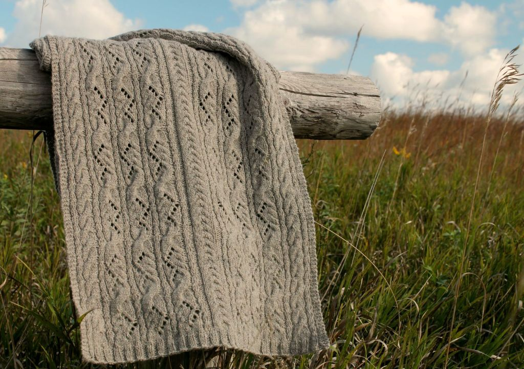 Tallgrass shawl
