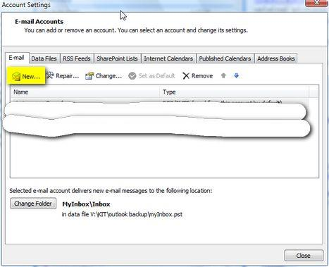 How to setup an e-mail account in Outlook 2007 - Windows Tutorials - create outlook account