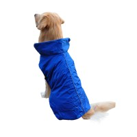 Dog Pet Puppy Reflective Safe Waterproof Raincoat Jacket ...