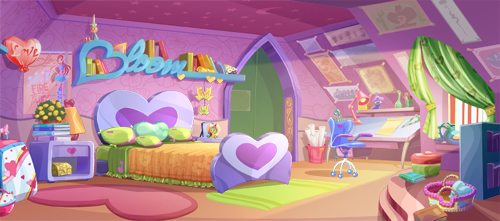 Bedroom Special Winx Club