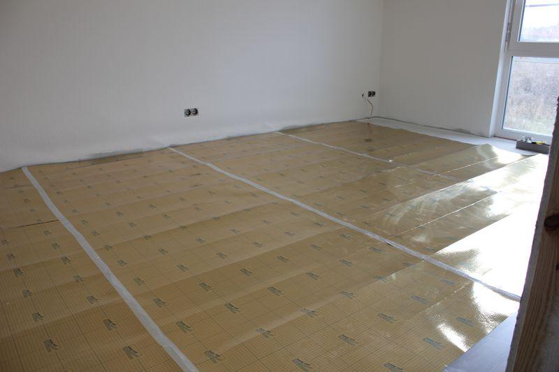 Laminatboden im Kinderzimmer verlegt u203a Wir bauen dann mal ein Haus - laminatboden verlegen