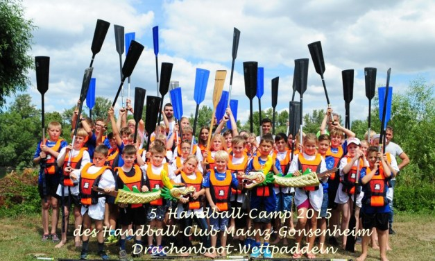 Mainz: Handball-Camp 2015