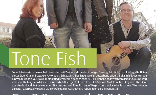 Die Band Tone Fish spielt am 29. April im Museumskeller Guntersblum