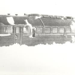 Die Fahrgäste dieses Zuges kamen in Vollrathsruhe unter.
