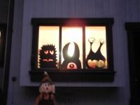 Christmas Window Silhouettes | myideasbedroom.com