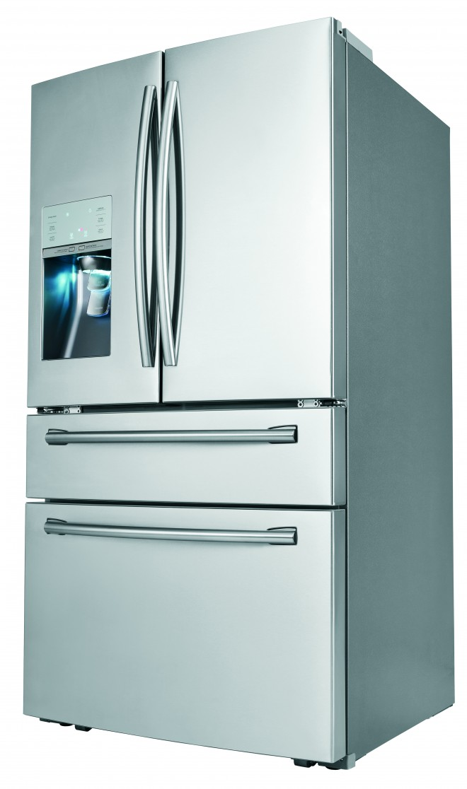 The fridge that makes soda.