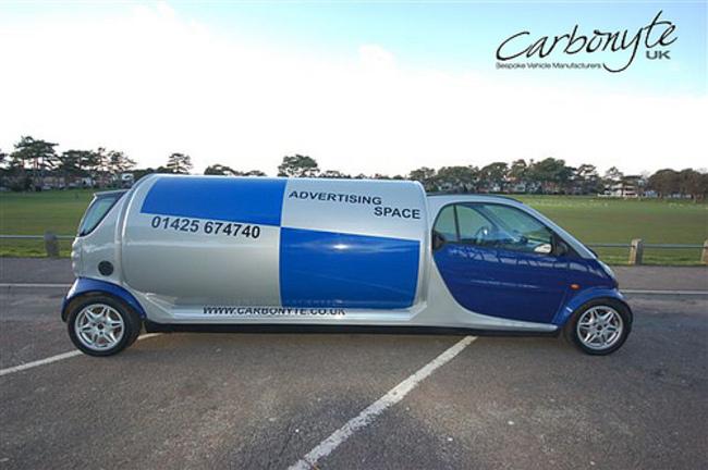 Six-wheeled Smart limousine - Smart Car Forums