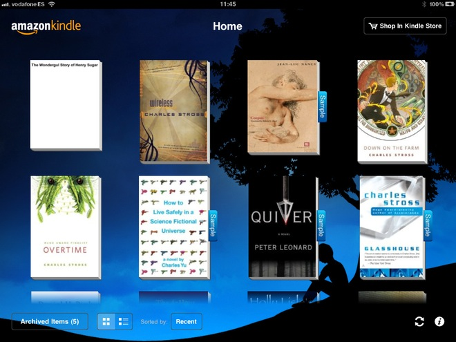 Read (Some of) Your Own Books on Kindle for iPad WIRED