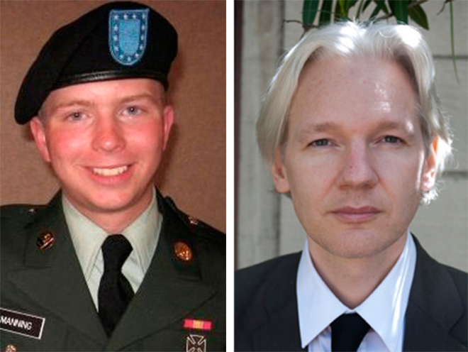 Image result for julian assange and manning