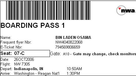 Make Your Own Fake Boarding Pass WIRED