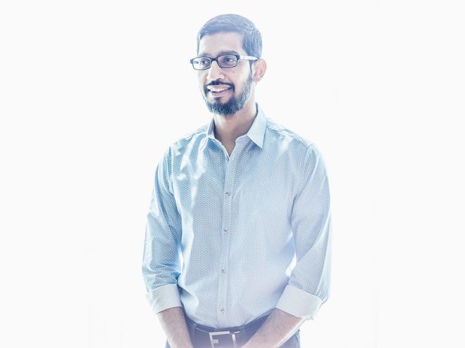 Sundar Pichai Just Inherited the Most High-Pressure Job at Alphabet