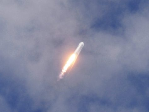 Watch as SpaceX Fires (and Hopefully Lands) Another Rocket