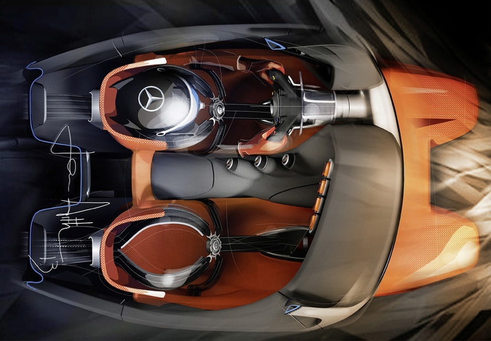 Coolest Car In The World Wallpaper Mercedes Creates Its Coolest Concept Car Ever For Gran