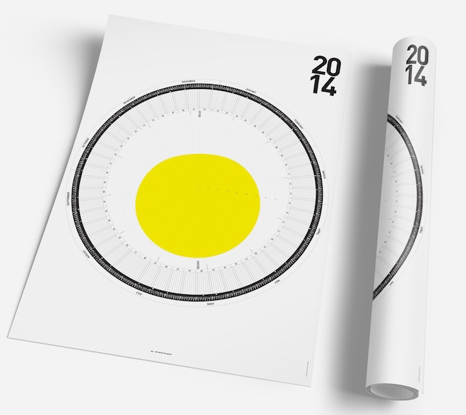 This Clever Calendar Visualizes Why Winter Is So Damn Cold WIRED - circular calendar