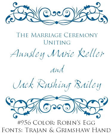 Cover Designs for Wedding Programs by Wiregrass Weddings - Wiregrass