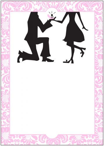 Proposal Party Invitation - Wiregrass Weddings - party proposal