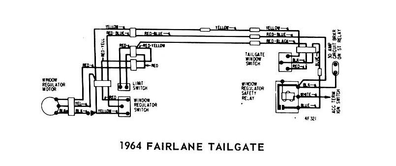 Windows Wiring Diagram Of 1965 Ford Fairlane Tailgate - 2013
