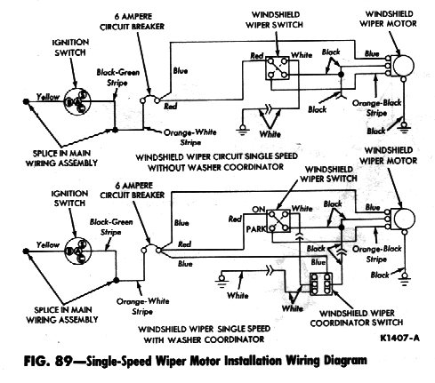 Ford Wiper Switch Wiring Wiring Diagram 2019
