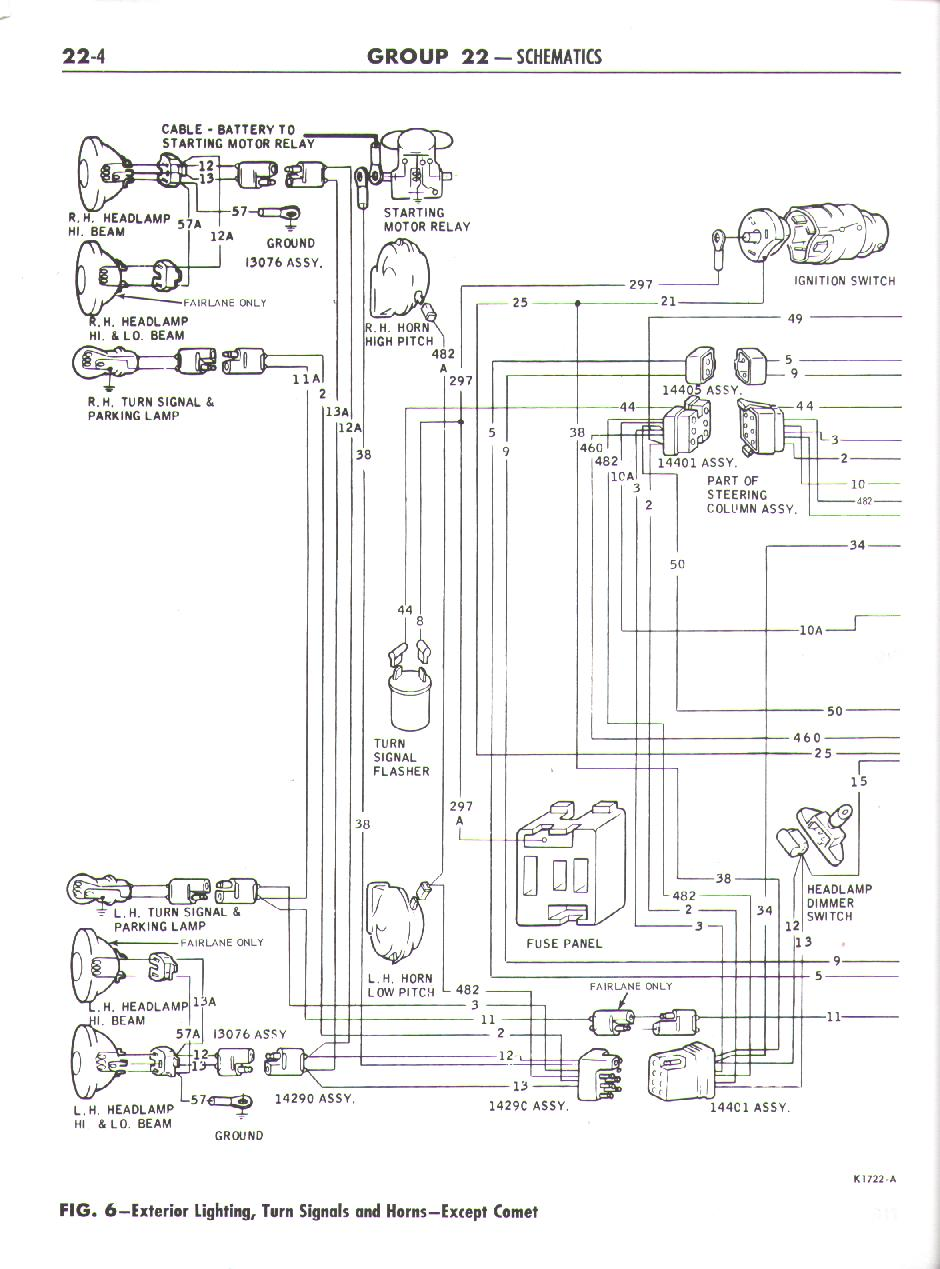 1958 ford ranchero wiring diagram free picture