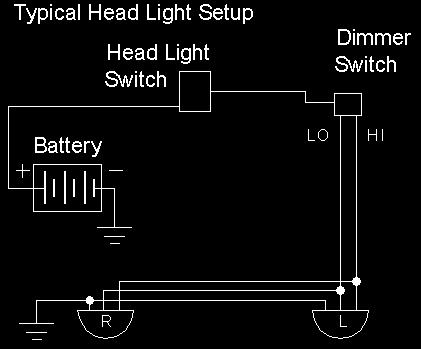 1957 chevy headlight wiring diagram headlight wiring diagram chevy