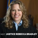 "Wisconsin Justice Rebecca Bradley, in her college newspaper 24 years ago, called gay people ""queers"" and said homosexuality sex kills."