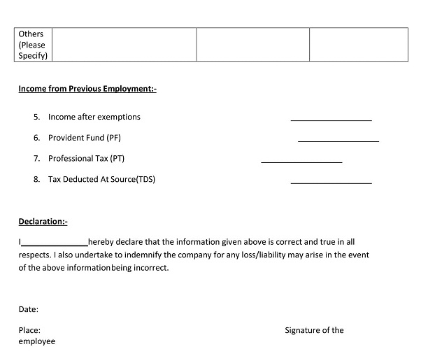 WHAT IS INVESTMENT DECLARATION FORM? wisdomjobs