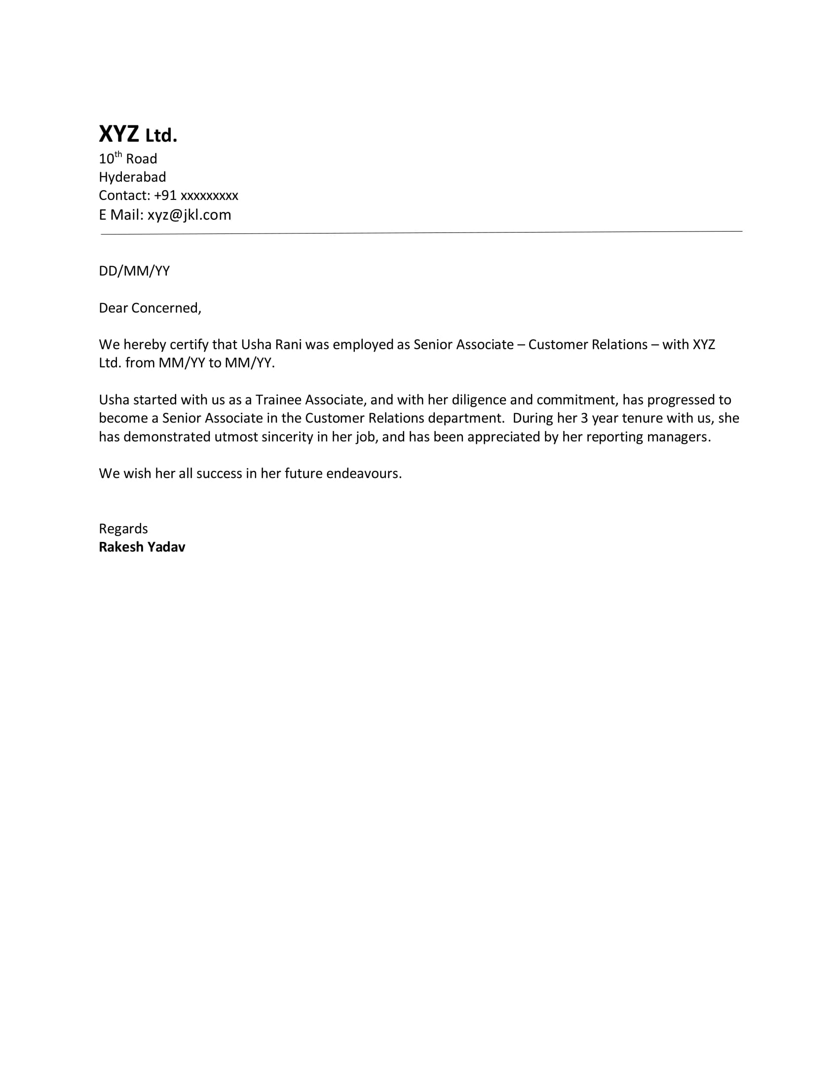 Cover Letter Examples For Teachers With No Experience Experience Sample Letter Format Download Letter Format