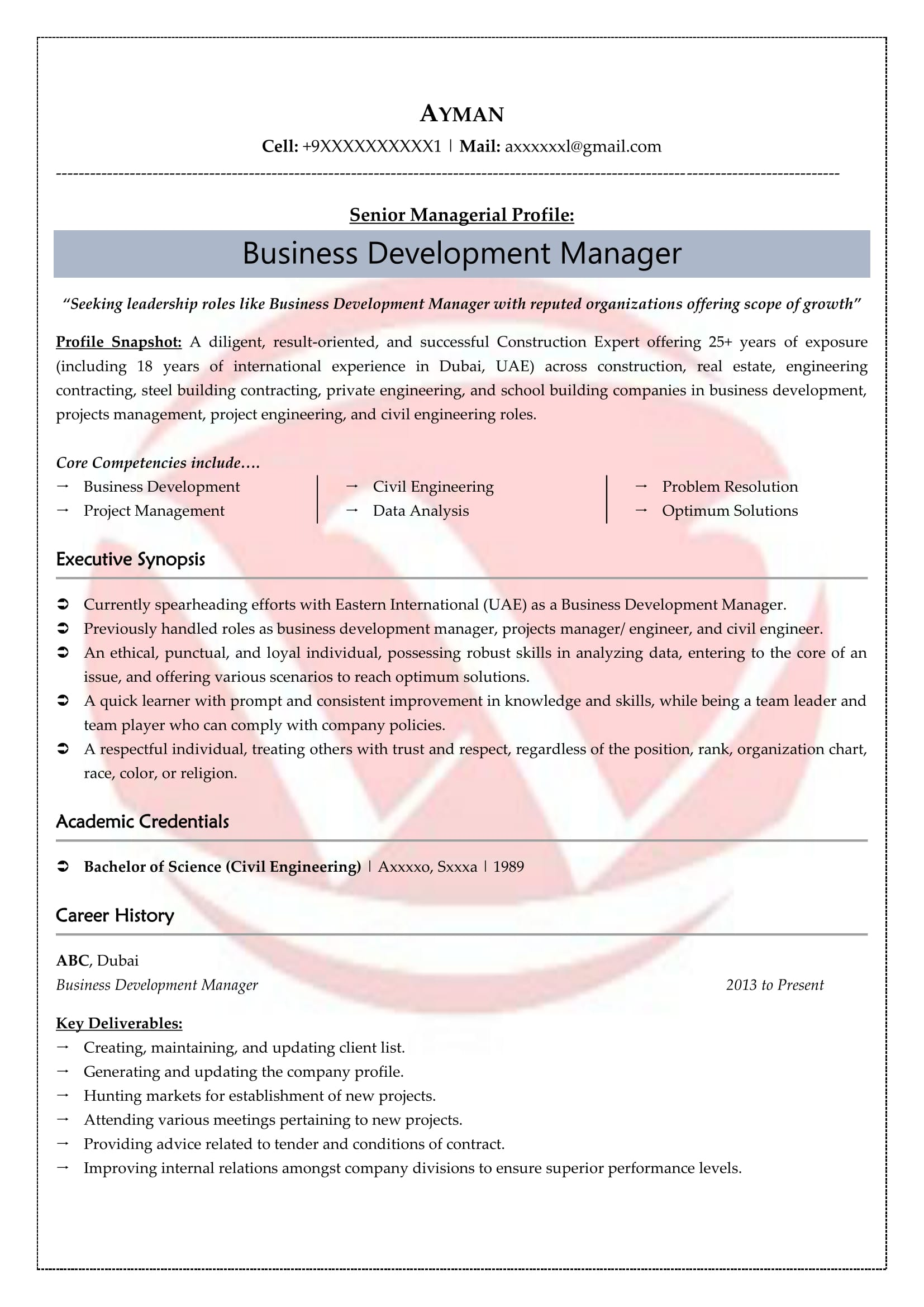 linux resume format resignation letter notice