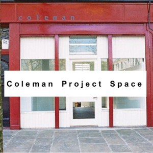 Coleman Project Space Annual Residency 2016– Sophie Michael and Andrew Munks @ Coleman Projects Gallery | London | United Kingdom