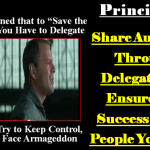 Principle 5: Share Authority Through Delegation