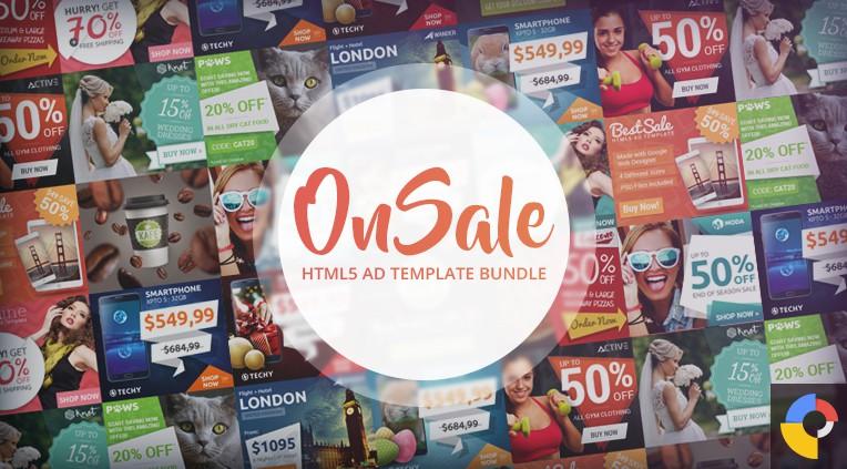 OnSale - HTML5 Ad Template Bundle