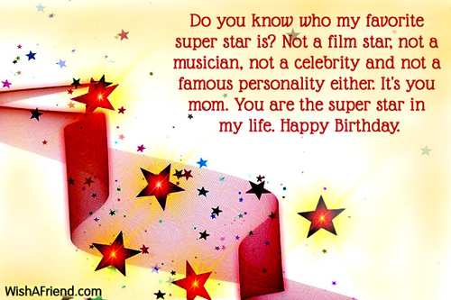Mom Birthday Messages - sample happy birthday email