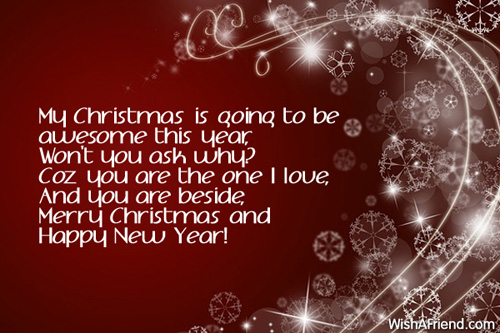 christmas messages for girlfriend new year message to fiance