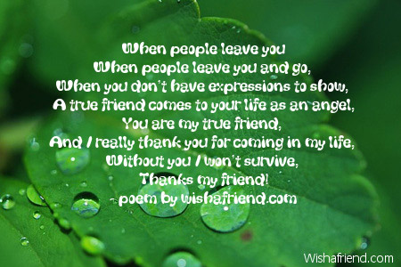 Fall Of Quotations Wallpapers When People Leave You Short Friendship Poem