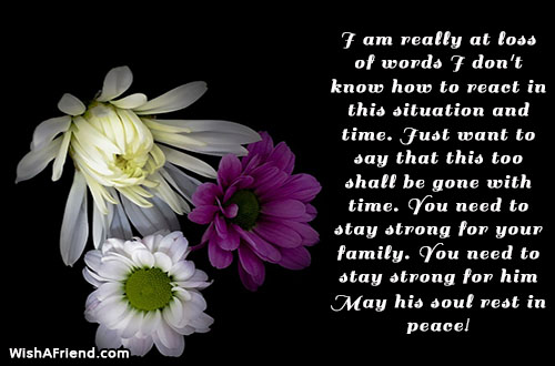 Sympathy Messages For Loss Of Father - Page 2 - sympathy message
