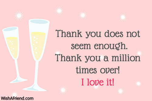 Thank You Notes For Gifts - thank you letter for gift