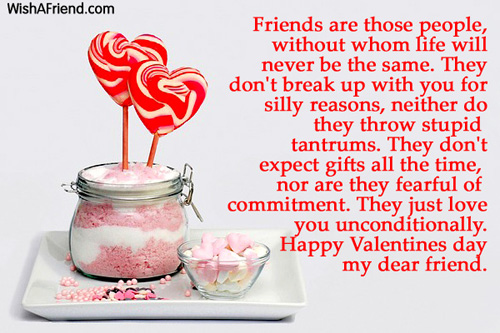 Valentines Day Messages For Friends - valentines cards words