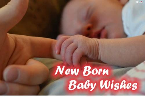 Medium Of New Baby Wishes